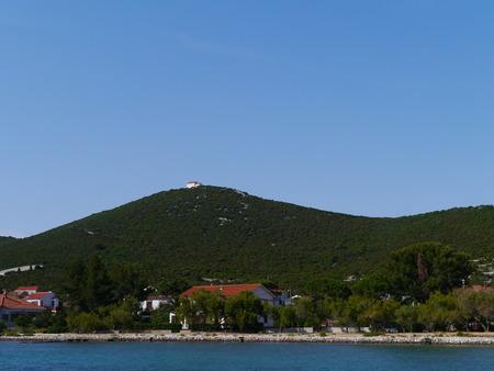 ist: The village Ist on the island Ist in the Adriatic sea of Croatia Stock Photo