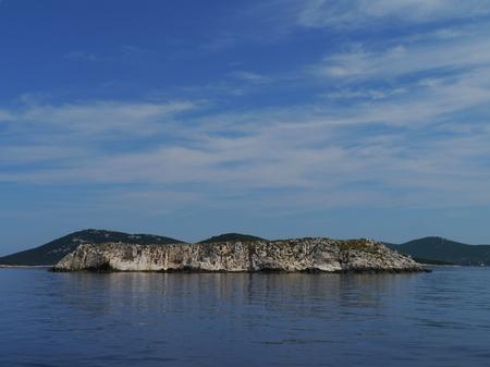 ist: A small island in the Adriatic sea near the island Ist