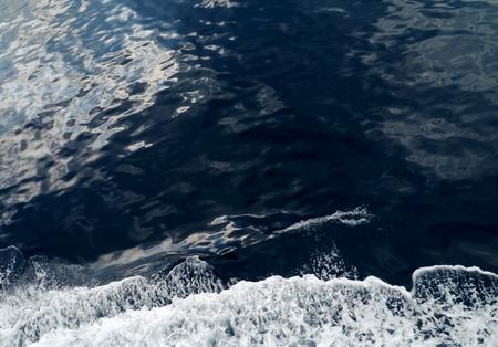causaba: Eddy causada por una h�lice de un barco en movimiento