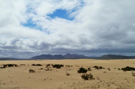 corralejo: Parque Natural de las Dunas de Corralejo sand dunes in the north of Fuerteventura