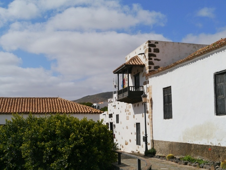 Saint Mary house or Casa Santa Maria in Betancuria on the island Fuerteventura one of the Canary islands in the Atlantic Ocean belonging to Spain