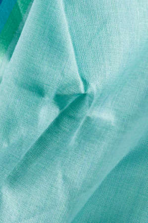 viewable: detail of crinkled fine cambric cloth