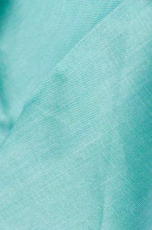 viewable: pleated woven cotton textile