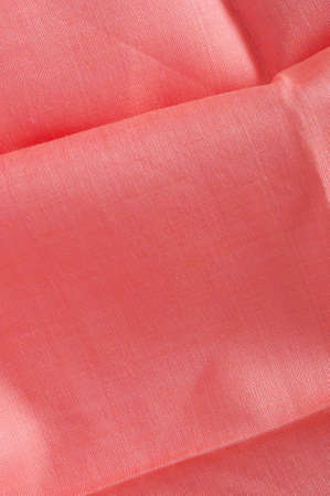hankie: ironed and unfolded fine cotton cloth Stock Photo