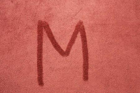 letra m: la letra M