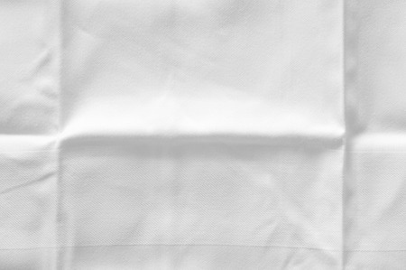 pleated: pleated white damast table napkin
