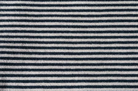 symetry: horizontal striped cloth