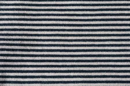 symetry: horizontal striped cloth