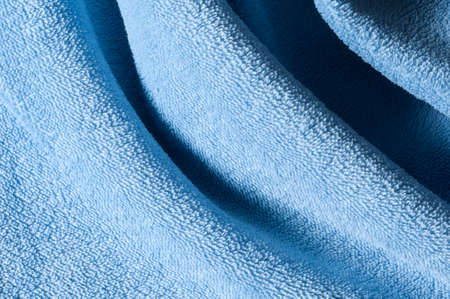 terrycloth: terry cloth with drapes Stock Photo