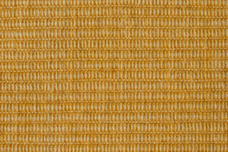 ribbed: ribbed sunny yellow fabric, back Stock Photo