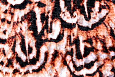 printed: printed tiger pattern