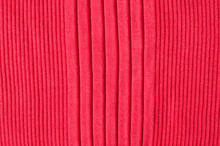 red silk: red silk jersey, ribbed