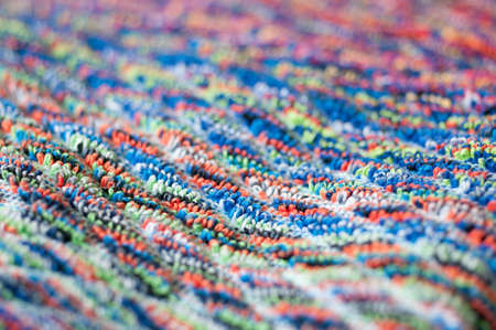 terrycloth: blurry frottee fabric Stock Photo