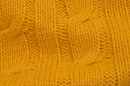 cable stitch: yellow cable stitch pattern