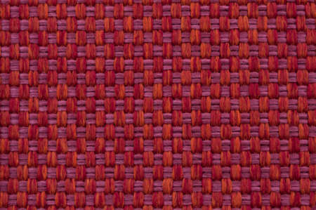 checked fabric: beautiful red pink checked fabric Stock Photo