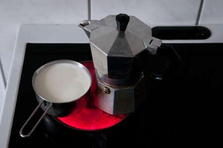 jag: to percolate coffee