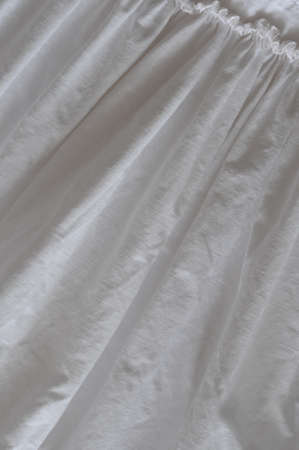 frilled: frilled white cotton