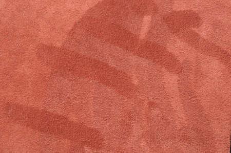 velours: fingermarks on full grain leather