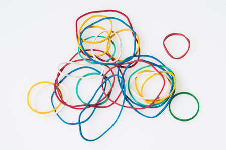 chaos theory: Rubber rings