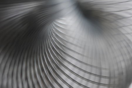 Metal spring, detail