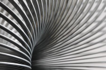 Metal spiral, detail