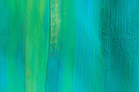 Abstract watercolor painting, blue and green, detail