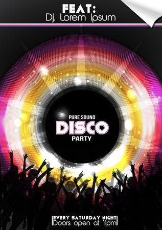 disco girls: Disco Party Poster