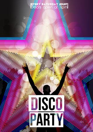 disco party: Disco Party Poster