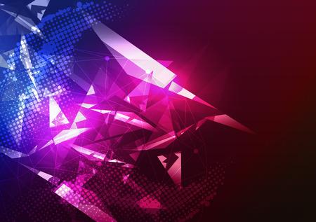 fiesta: Disco Party Plantilla del cartel de fondo - ilustraci�n vectorial