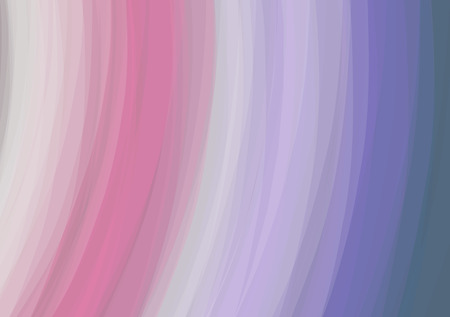 artsy: Smooth Silk Lines Abstract Texture Background - Vector Illustration