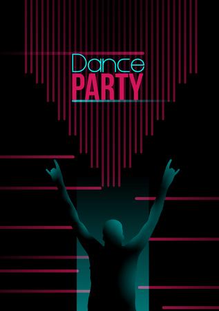 Neon Retro Dance Party