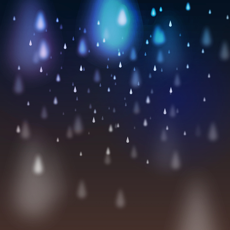 storm clouds: Abstract Rain on Dark Background