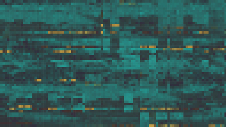 Abstract Fragmented Noisy Pixel Background - Vector Illustration