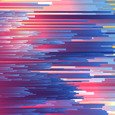 Abstract Fiber Optics Background  - Vector Illustration
