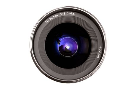Camera Lens isolated on white Stock Photo - 5039782