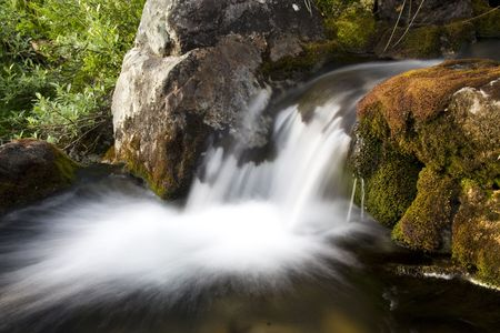 Mountain stream in autumn Stock Photo - 5084326