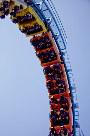 rollercoaster: People on a Rollercoaster