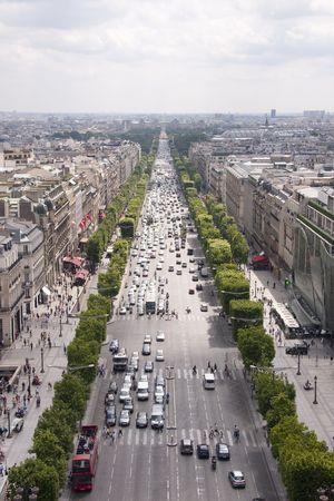 Avenue des Champs-�lys�es Stock Photo - 5190351