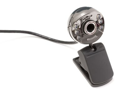 Digital webcam on white background Stock Photo - 5328552
