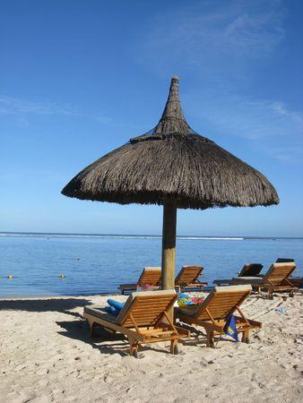 Tropical beach in Mauritius Stock Photo - 5328609