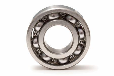Ball bearing isolated on white background Stock Photo - 5369514