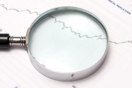 Analysing the stock market Stock Photo - 5547455