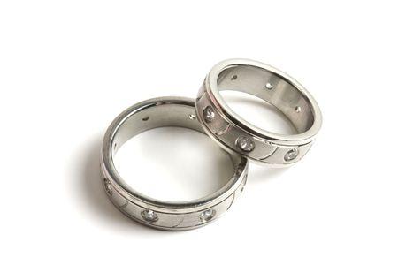 anillo de boda: Anillos de boda  Foto de archivo