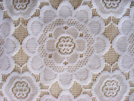 lace up: Texture of beautiful white lace background