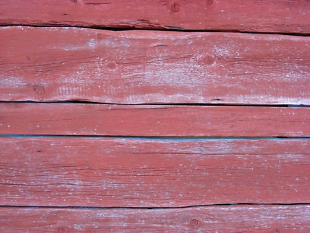 Fence weathered and painted wood background 