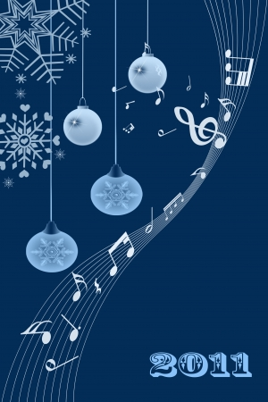 Beautiful and modern abstract christmas light background Stock Photo - 7989037