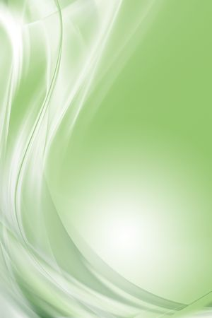 green artistic: Beautiful and modern abstract background  Stock Photo