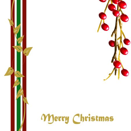 Beautiful abstract Christmas card   photo