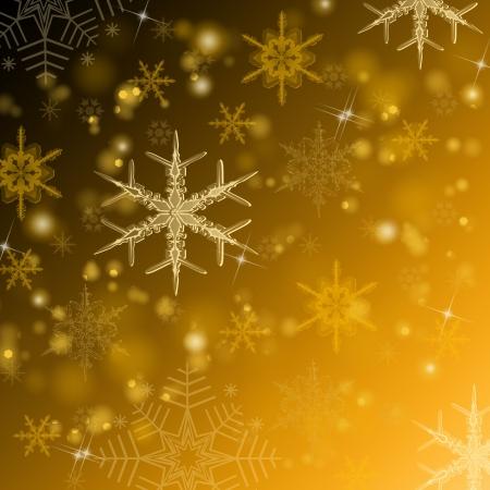 Beautiful  gold shiny Christmas background  photo