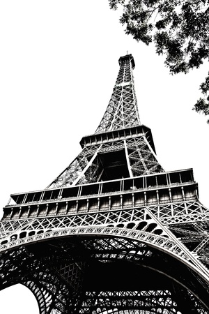 Eiffel Tower ,Paris, France Stock Photo